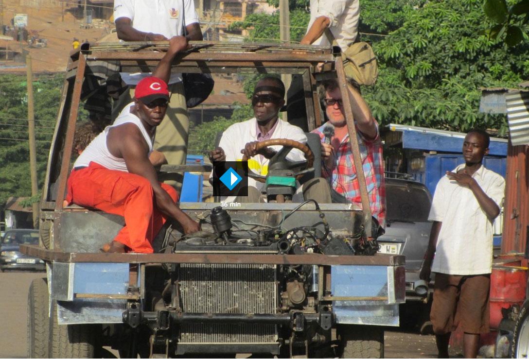 Een Afrikaanse auto