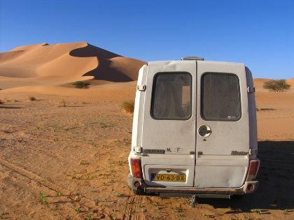 Een auto naar Afrika